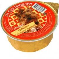 """Зоогурман """"Ем без проблем"""" 125гр для собак - Говядина/Курица/Индейка"""