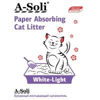 А-Соли бумажный впитывающий 6л (2,7кг) Белый/Легкий (A-Soli)