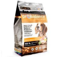 ПроБаланс 500гр для собак Мелких и Средних (ProBalance)