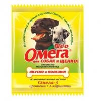 Омега NEO для собак и щенков - Протеин и L-карнитин, 15шт