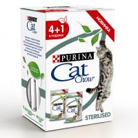 Кэт Чау 85гр - Стерил 4+1 (Cat Chow)