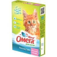 Омега NEO для котят - Веселый малыш, с пребиотиком, 60шт