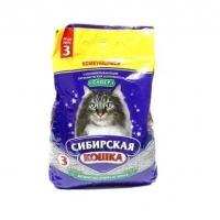 """Сибирская кошка """"Супер"""" комкующийся, 3л"""