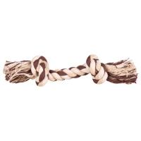 Веревка с узлом 22см, Цветная (Trixie)