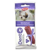 Снек Dent - Печень Говяжья - для мелких собак, 4шт/уп (TitBit)