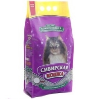 """Сибирская кошка """"Экстра"""" комкующийся, 10л для длинношерстных кошек"""