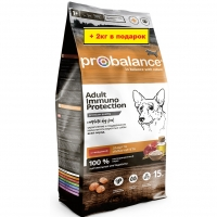 ПроБаланс 15кг + 2кг для собак Говядина (ProBalance)
