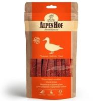АльпенХоф для собак Средних и Крупных 80гр - Нарезка из филе Утки (Alpen Hof)