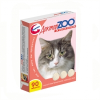 Доктор Зоо для кошек 90шт - Ветчина
