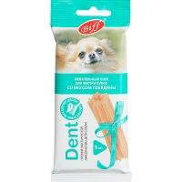 Снек Dent - Говядина - для мелких собак, 5шт/уп (TitBit)