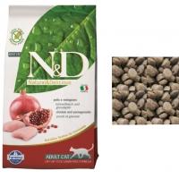 Фармина N&D - Курица и Гранат (беззерновой), корм для взрослых кошек (Farmina), весовой (1кг)