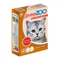 Доктор Зоо для кошек 90шт - Копчености