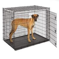 """Клетка для собак """"Grate Ginormus"""" (137х94х114h см) Черная, 2 двери (Midwest)"""