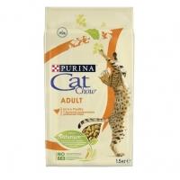 Кэт Чау 1,5кг. Птица (Cat Chow)