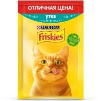 Фрискис пауч 50гр - Утка (Friskies)