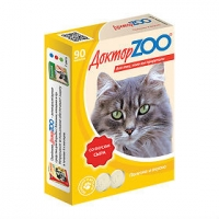 Доктор Зоо для кошек 90шт - Сыр