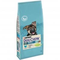 Дог Чау 14кг для щенков крупных Индейка (Dog Chow)