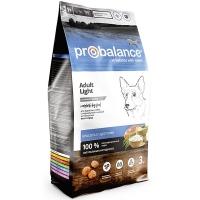 ПроБаланс 3кг для собак Лайт низкокалорийный (ProBalance)