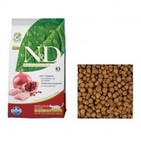Фармина N&D Стерилизед - Курица и Гранат (беззерновой), корм для Стерилизованных кошек (Farmina), весовой (1кг)