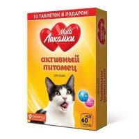 МультиЛакомки для кошек - Активный питомец, 70шт