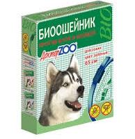 Ошейник репеллентный для собак, Доктор Зоо (65см) - Синий
