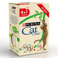 Кэт Чау 85гр - Эдалт 4+1 (Cat Chow)