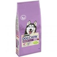 Дог Чау 14кг для собак Пожилых 9+ Ягненок (Dog Chow)