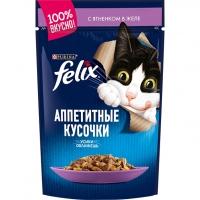 Феликс 85гр - Ягненок (желе) (Felix)