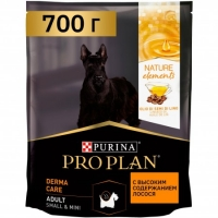 ПроПлан Натурал Элемент для Мелких собак. Лосось. 700гр (Pro Plan)
