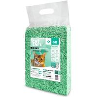 Кэт Сейф тофу 6л - Зеленый чай, комкующийся Соевый наполнитель (Cat Safe)