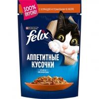 Феликс 85гр - Курица/Томат (желе) (Felix)