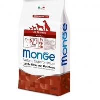 Монж Спешл корм для собак всех пород 12кг, Ягненок (Monge)