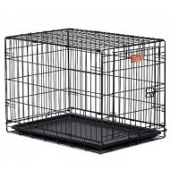 Клетка для собак (78,7х55х60,3см) Черная, 1 дверь (Midwest Crate)