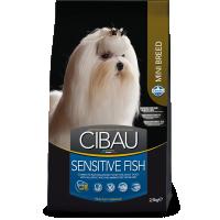 Чибау 2,5кг - для мелких собак - Рыба (Cibau)