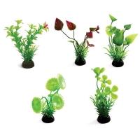 Растения (набор 5шт), 80мм (пакет) разноцветные
