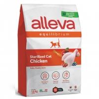 Аллева Эквилибриум 1,5кг - Курица - Стерилизед для взрослых кошек (Alleva Equilibrium)