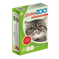 Доктор Зоо для кошек 90шт - Печень