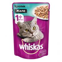 Вискас 85гр - Желе - Кролик (Whiskas)