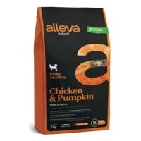 Аллева Натурал 12кг - Курица, Тыква - для щенков Крупных (Alleva Natural)