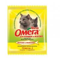 Омега NEO для кошек и котят - Таурин и L-карнитин, 15шт