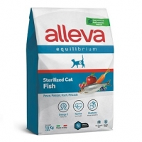 Аллева Эквилибриум 1,5кг - Рыба - Стерилизед для взрослых кошек (Alleva Equilibrium)