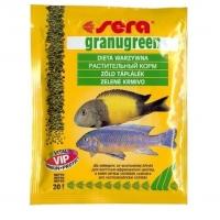 Сера Гранугрин 20гр, гранулы для цихлид (Sera)