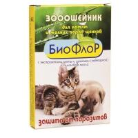 """Ошейник репеллентный """"БиоФлор"""" для Котят и Щенков"""
