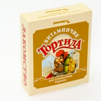 """Витаминчик 50гр - для сухопутных черепах """"Тортила"""" (Зоомир)"""
