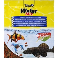 Тетра ВаферМикс 15гр, корм для донных рыб и ракообразных (Tetra)