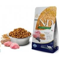 Фармина N&D - Ягненок и Черника (низкозерновой корм для кошек) (Farmina), весовой (1кг)
