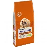 Дог Чау 14кг для собак Пожилых 5+ Ягненок (Dog Chow)