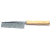 Расческа частозубая, для британцев арт.9652 - деревянная (19,5х3,5см)
