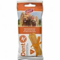 Снек Dent - Сыр - для мелких собак, 4шт/уп (TitBit)