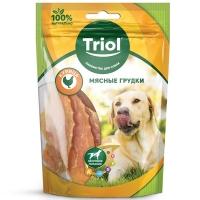 Мясные грудки из Курицы 70гр - лакомство для собак (Triol)